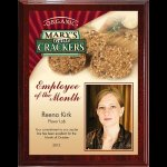 Digi-Color Direct Mahogany Plaque Employee Awards