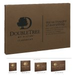 Leatherette Wall Sign -Dark Brown Employee Awards